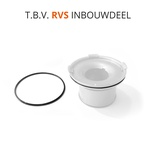 O-ring t.b.v. telescopisch waterslot (rvs inbouwdeel)